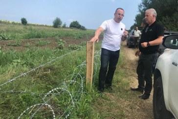 81 км е вече телената ограда по границата ни
