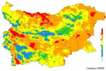 14 области на страната са застрашени от пожари
