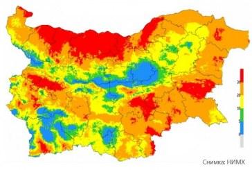 В 20 области опасността от пожари е повишена