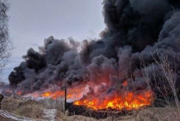 Няма превишения на нормите за качеството на въздуха след пожара на депото в Свищов