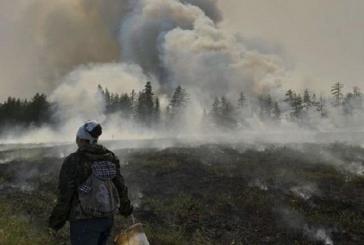 Обявено е извънредно положение заради пожарите в Сибир (ВИДЕО)