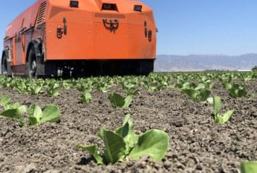 Робот ще отглежда зеленчуци за 400 000 души