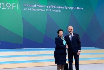 Министър Танева: В България се прилагат мерки, които имат положително влияние върху задържане на въглерода в почвата