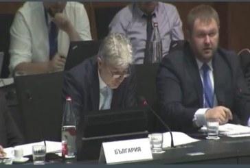 Министър Нено Димов участва в заседанието на Съвета на ЕС по околна среда в Люксембург