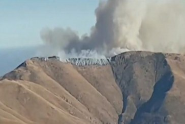 Пожарникари, военни и горски служители цяла нощ овладяваха пожара над Чипровци