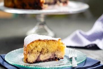 Кейк със сирена и сладко от боровинки (ВИДЕО)